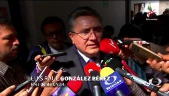CNDH pide a EPN vetar la Ley de Seguridad Interior