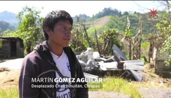 Suman 11 tzotziles muertos por desplazamiento en Chalchihuitán