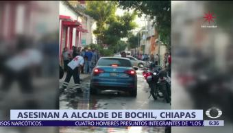 Asesinan al presidente municipal de Bochil, Chiapas