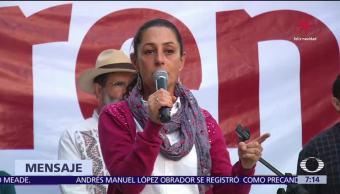 Claudia Sheinbaum inicia semana en San Pedro Xalapa, Azcapotzalco