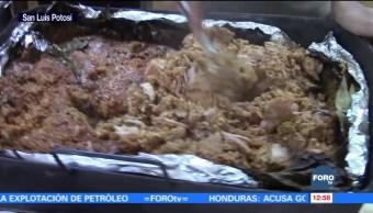 Huasteca Potosina disfruta del zacahuil en Navidad y Año Nuevo