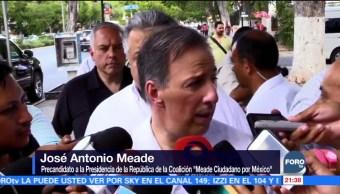 José Antonio Meade visita el estado de Yucatán