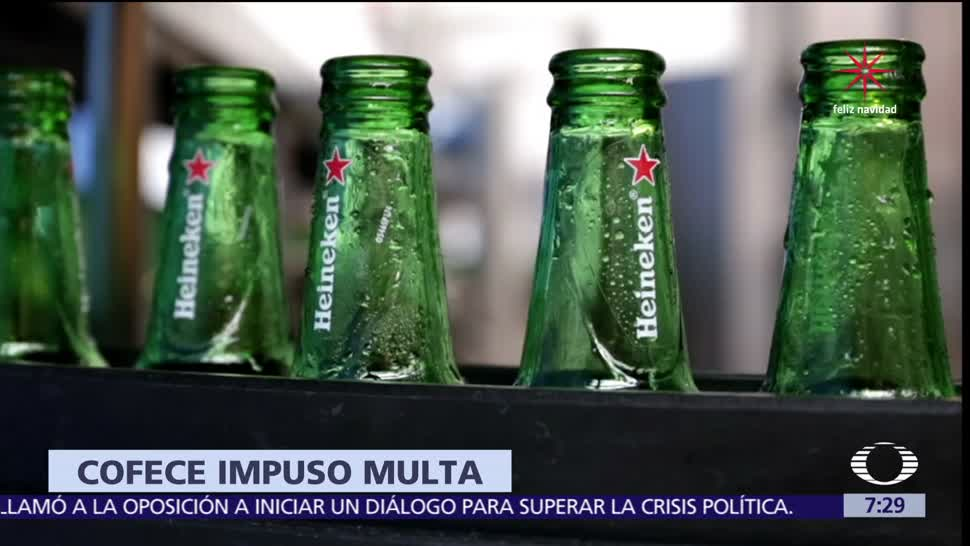 Heineken Feliz Navidad.Cofece Impone Multa De 11 Millones 789 Mil Pesos A Heineken