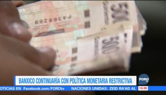 Banco de México podría seguir con incrementos a la Tasa de Interés