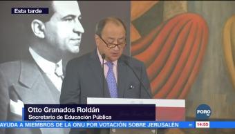 Realizan homenaje póstumo a Jaime Torres Bodet