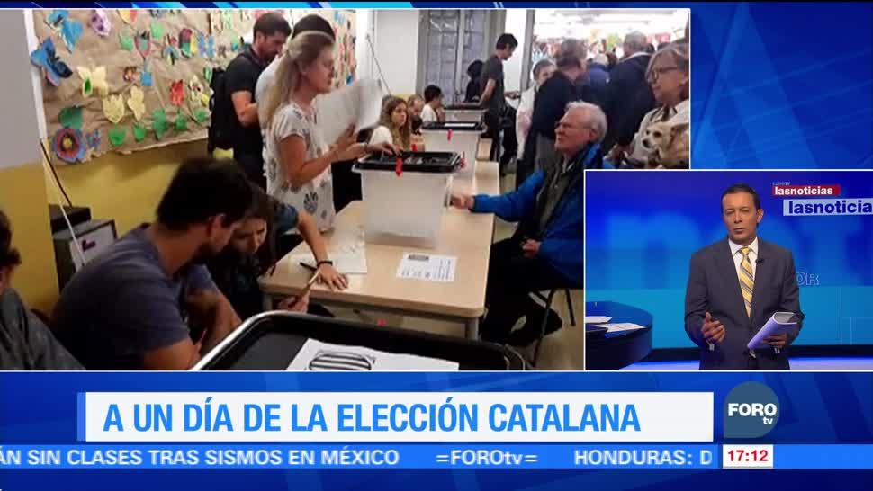 Elecciones en la región de Cataluña