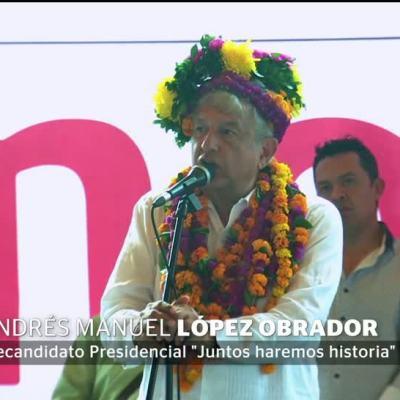 AMLO recurre a la Biblia en Hidalgo