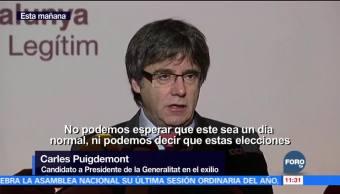 Catalanes votan para elegir al presidente de la Generalitat