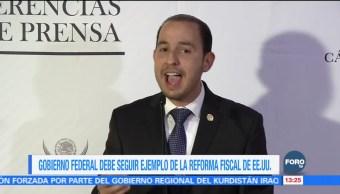 PAN pide reforma fiscal para México