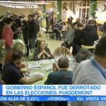 El Estado español ha sido derrotado: Puigdemont
