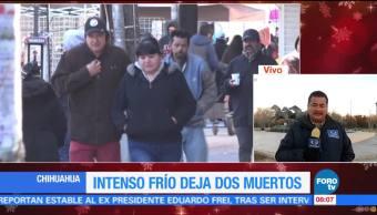 Se confirma segunda muerte por bajas temperaturas en Chihuahua