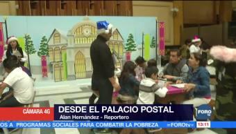 Palacio Postal recibirá cartas para Santa y Los Reyes Magos