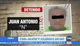 Detienen a colaborador cercano a Javier Duarte