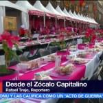 CDMX prepara cena navideña gratuita en el Zócalo