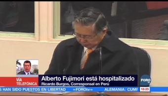 Salud de expresidente Alberto Fujimori mejora de manera paulatina
