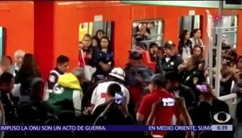 Detienen al hombre que disparó al interior del Metro Romero Rubio