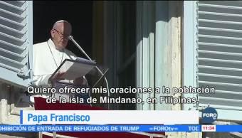 El papa pide paz para regiones azotadas por violencia