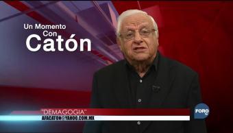 Un momento con Armando Fuentes 'Catón' del 25 de diciembre