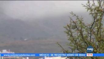Frío extremo afecta al sector agrícola en Aguascalientes