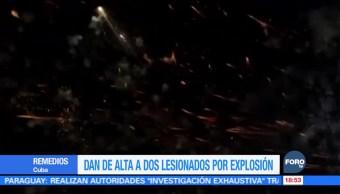 Explosión de fuegos artificiales deja varios heridos en Cuba