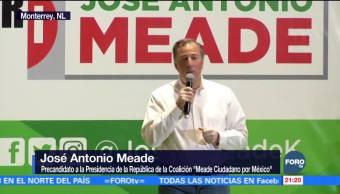 Meade se reúne con priistas en Monterrey