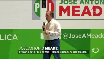 Meade se reúne con militancia priísta en NL