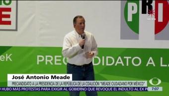 Meade es cuestionado por militantes priistas de la comunidad gay