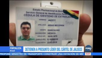 Detienen en Brasil a presunto líder del CJNG