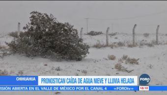 Pronostican intenso frío para las próximas horas en Chihuahua