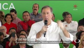 Meade habla de inseguridad en Jalisco