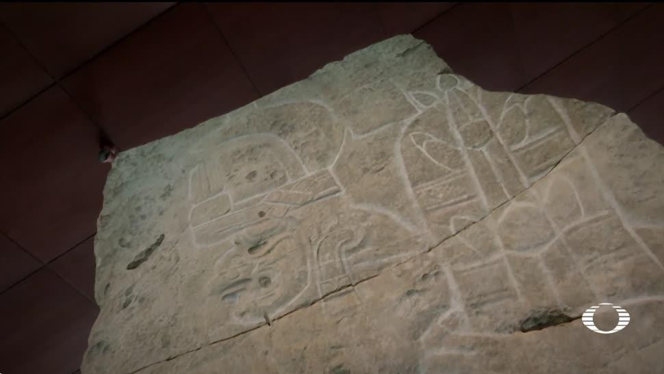 Museo de Antropología exhibe Bajorrelieve de Xoc