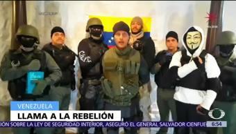 Reaparece en video el piloto venezolano que pide protestar contra Nicolás Maduro