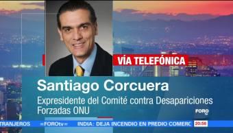 Santiago Corcuera habla sobre la Seguridad Interior