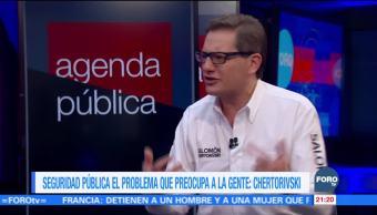 Seguridad pública el problema que preocupa a la gente: Chertorivski