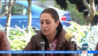 Reconstrucción de la ciudad es primordial: Sheinbaum Claudia Sheinbaum, precandidata de MORENA al Gob