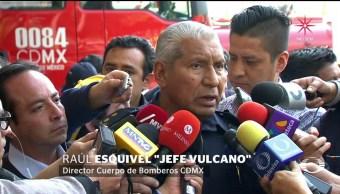 'Jefe Vulcano' anuncia fin del conflicto entre Bomberos