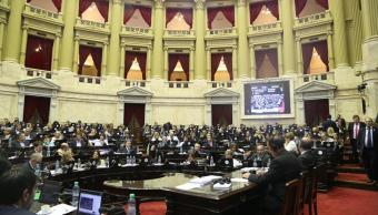 parlamento argentino aprueba reforma pensiones desato protestas
