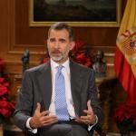 Felipe VI pide en mensaje de Navidad respetar pluralidad en Cataluña