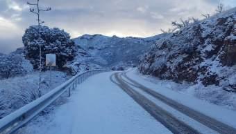 Habrá más nevadas en cuatro estados del noroeste de México
