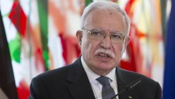 Gobierno palestino advierte que EU se ha convertido en parte del conflicto