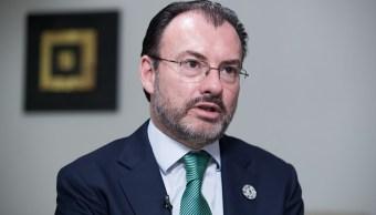 México fortalece su relación con EU en 2017, destaca SRE