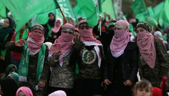 Hamas celebra su 30 aniversario con promesas de una nueva intifada