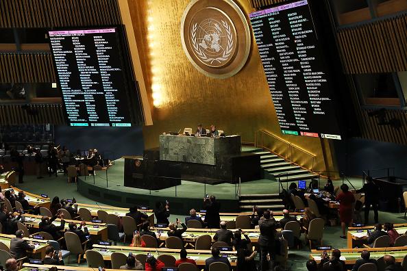 ONU aprobó una resolución que demanda a Washington dar marcha atrás y que se abstenga de trasladar su embajada a Jerusalén. (Getty Images)