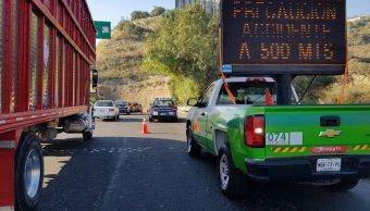 Accidente vial en la Chamapa Lechería