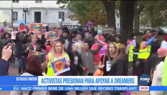 Activistas exigen apoyo a 'dreamers' en Estados Unidos