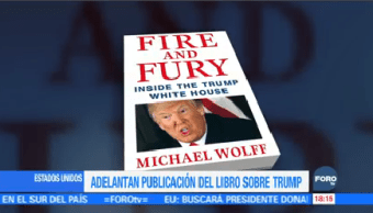 Adelantan Lanzamiento Libro Trump Polémico Donald