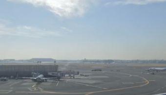 Aeronave de Aeromar regresa al AICM tras falla