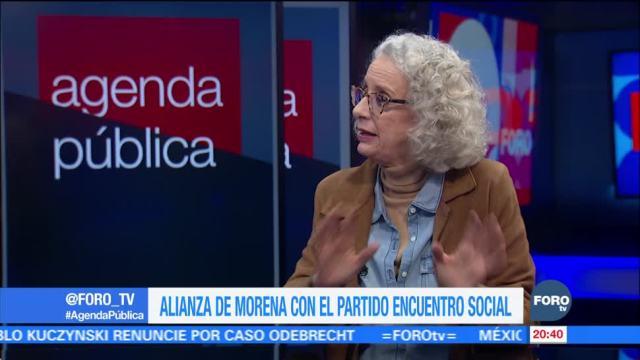 Alianza de Morena con el Partido Encuentro Social