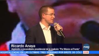 Anaya buscará candidatura Presidencia México Ricardo