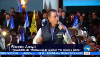 Anaya Defiende Coalición Por México Frente